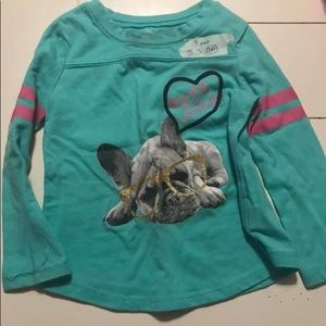 """Other - 18 mo long sleeve top """"Cute when sleeping """""""